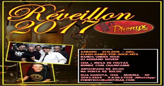 Réveillon 2017 no Phenyx Club com os agitos da Banda UnderRock e Dj Adriano Roveri Eventos BaresSP 570x300 imagem