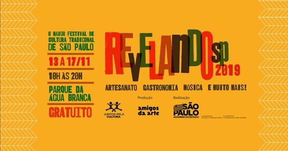 Revelando SP reúne mais de 350 expressões culturais paulistas no Parque da Água Branca Eventos BaresSP 570x300 imagem