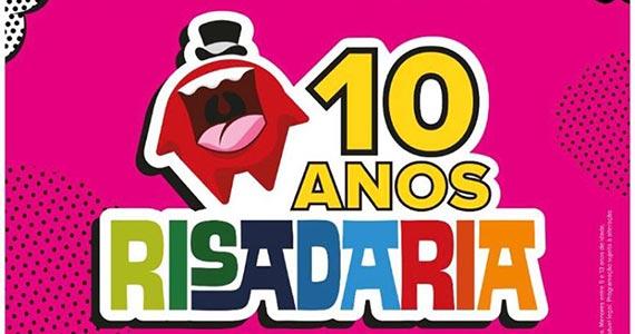 Risadaria realiza megashow aos seus 10 anos no Allianz Parque Hall Eventos BaresSP 570x300 imagem