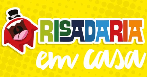 Festival Risadaria acontece pela primeira vez 100% online e gratuito Eventos BaresSP 570x300 imagem