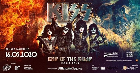 Kiss retorna a São Paulo com turnê despedida Eventos BaresSP 570x300 imagem
