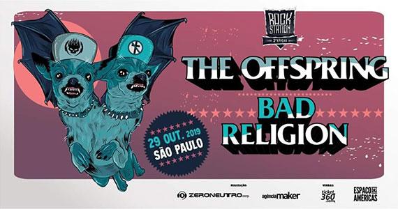 Rock Station em São Paulo traz Bad Religion e The Offspring Eventos BaresSP 570x300 imagem
