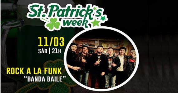 A banda Baile traz o seu repertório de rock dançante para o The Kings na St. Patricks Week Eventos BaresSP 570x300 imagem