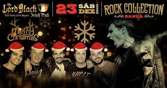 Rock Collection embala a véspera de Natal no The Lord Black Pub tocando Classic e Pop Rock Eventos BaresSP 570x300 imagem