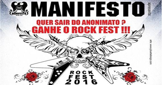 Domingo é dia da 2ª Eliminatória do Manifesto Rock Fest Eventos BaresSP 570x300 imagem