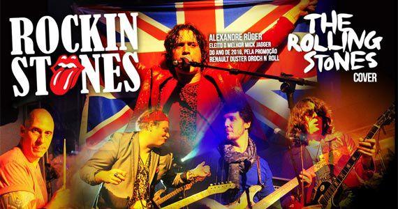 A banda cover do Rolling Stones Rockin Stones agita a noite na Casa Amarela Pub tocando os maiores sucessos do grupo rock inglês  Eventos BaresSP 570x300 imagem