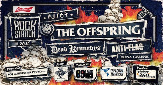 The Offspring, Dead Kennedys, Anti-Flag e Dona Cislene agitam o Rock Station 2016 no Espaço das Américas Eventos BaresSP 570x300 imagem