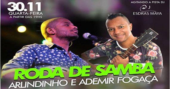 Roda de Samba com Arlindinho e Ademir Fogaça na Companhia da Cerveja Eventos BaresSP 570x300 imagem