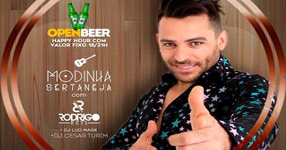 Modinha Sertaneja do Bar Dezoito é embalado pelo cantor Rodrigo Reys Eventos BaresSP 570x300 imagem