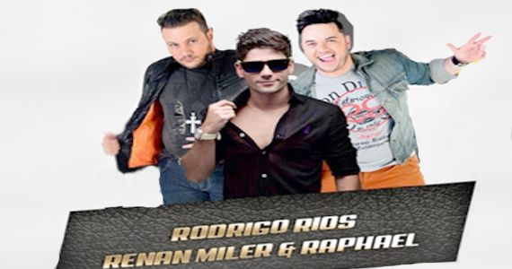 Sexta-feira é dia de curtir o show de Rodrigo Rios e da dupla Renan Miler & Raphael na Brooks Eventos BaresSP 570x300 imagem