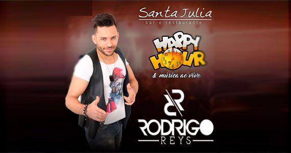 Sexta-feira é dia de curtir Happy Hour com Rodrigo Reys no Bar Santa Júlia Eventos BaresSP 570x300 imagem