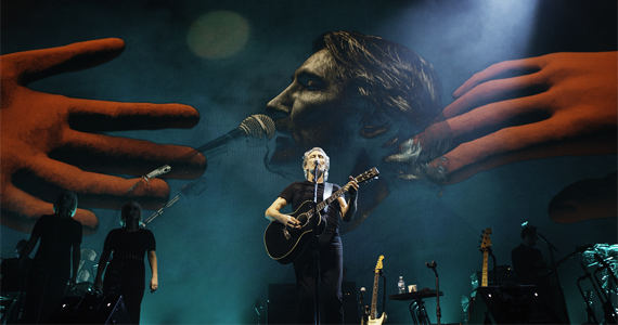 Pocket Show de Roger Waters na Fonte do Ibirapuera