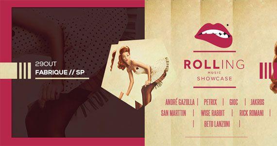 Pela primeira vez em São Paulo Rolling Music Showcase na Fabrique  Eventos BaresSP 570x300 imagem