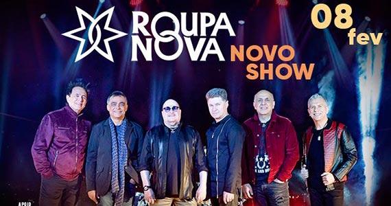 Roupa Nova faz show exclusivo no Espaço das Américas com seus maiores sucessos Eventos BaresSP 570x300 imagem
