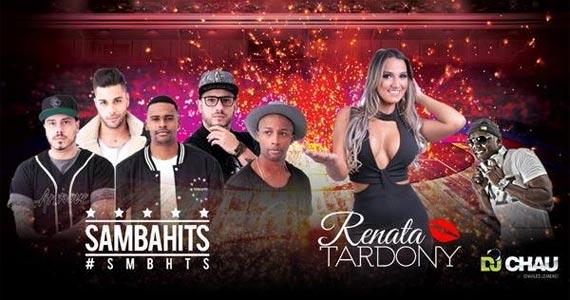 O Samba Chegou no Bar Santa Julia com Façanha, Prettos, Na Hora H, Samba Hits e Renata Tardony Eventos BaresSP 570x300 imagem