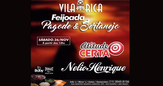 Boteco Vila Rica recebe o melhor do samba e pagode no sábado Eventos BaresSP 570x300 imagem