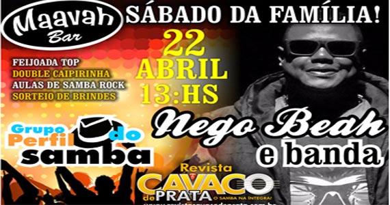 Feijoada com pagode do grupo Perfil do Samba e Nego Beah no Maavah Bar e a noite muito sertanejo Eventos BaresSP 570x300 imagem