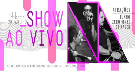 Show ao vivo com Junno, Zero*Onze e os hits do Dj Kaleb no NaLorena Eventos BaresSP 570x300 imagem