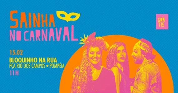 Bloco de Carnaval Saia de Chita desfila pelas ruas da Pompéia Eventos BaresSP 570x300 imagem