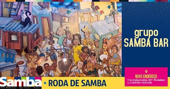 Samba Bar agita a música ao vivo no Bar Samba Eventos BaresSP 570x300 imagem