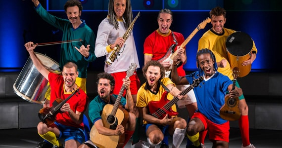 Musical Samba Futebol Clube estreia no Teatro Unimed em Novembro Eventos BaresSP 570x300 imagem