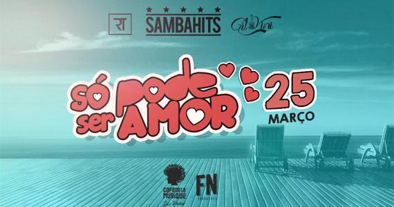 Café de la Musique Beach Club recebe a Festa Só Pode Ser Amor para os amantes de uma boa farra Eventos BaresSP 570x300 imagem