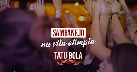 Sábado animado com música ao vivo no Tatu Bola - Vila Olímpia Eventos BaresSP 570x300 imagem