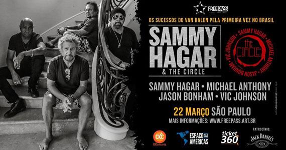 Sammy Hagar & The Circle apresenta os sucessos do Van Halen Eventos BaresSP 570x300 imagem