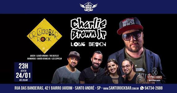 Santo Rock Bar convida Banda Lobg Beach 64 e Banda Crossbar Eventos BaresSP 570x300 imagem
