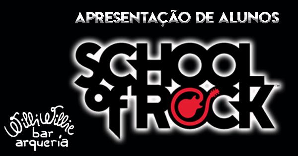 Programação - Audição dos Alunos da School Of Rock