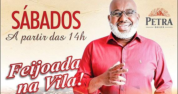 Feijoada no Vila do Samba com Serginho Madureira e Banda aos sábados Eventos BaresSP 570x300 imagem