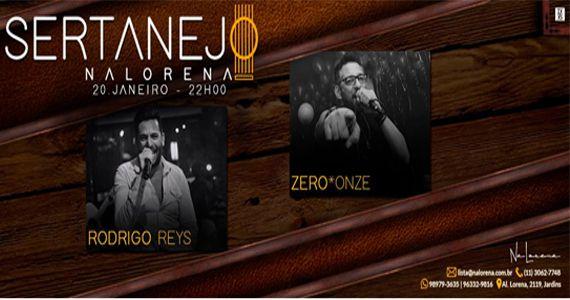 Sexta-feira é dia de curtir sertanejo com Rodrigo Reys e Zero *Onze no NaLorena Eventos BaresSP 570x300 imagem