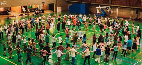 Encontro de Danças Circulares no Sesc Consolação Eventos BaresSP 570x300 imagem