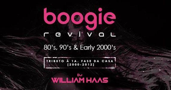 Toda a vibe e conceito da Boogie Disco sob o comando do Dj Willian Haas tocando o melhor dos anos 80, 90 e 2000  Eventos BaresSP 570x300 imagem