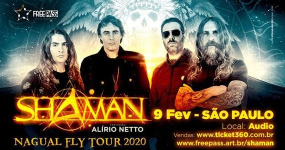 Shaman feat. Alírio Netto agitam noite na Audio Eventos BaresSP 570x300 imagem