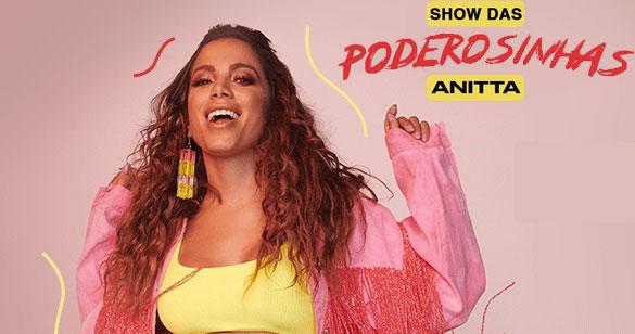Anitta retorna ao Credicard Hall com o Show das Poderosinhas Eventos BaresSP 570x300 imagem