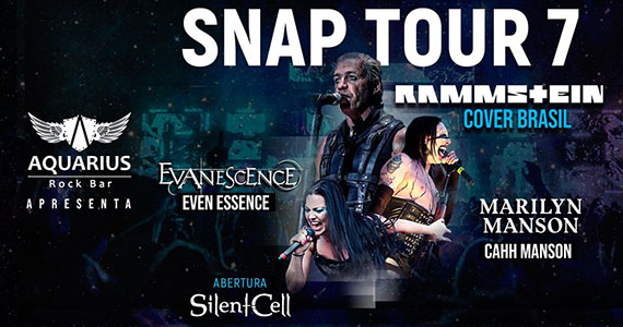 Snap Tour 7 reúne bandas para noite de rock internacional no Aquarius