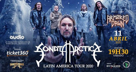 Sonata Arctica apresenta novo álbum em show na Audio Eventos BaresSP 570x300 imagem