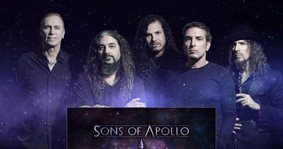 Sons of Apollo retornam ao Tom Brasil com show único Eventos BaresSP 570x300 imagem