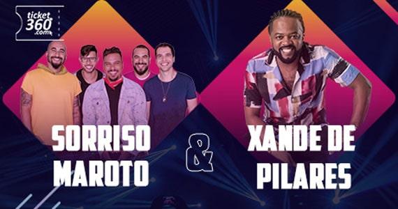 Sorriso Maroto e Xande de Pilares fazem show de samba no Juventus Eventos BaresSP 570x300 imagem
