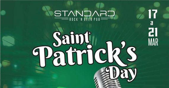 Standard Pub comemora St. Patrick's Day com promoções e música ao vivo Eventos BaresSP 570x300 imagem