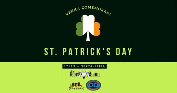 St. Patricks do Kia Ora com diversos Le Prechauns, welcome chopp verde e show de bandas Eventos BaresSP 570x300 imagem