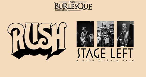 Stage Left realiza homenagem ao Rush no Paris 6 Burlesque