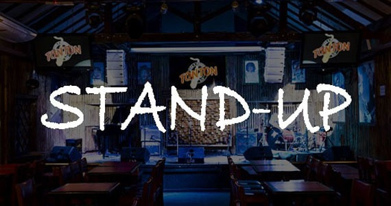 Ton Ton Jazz recebe show de Stand Up Comedy