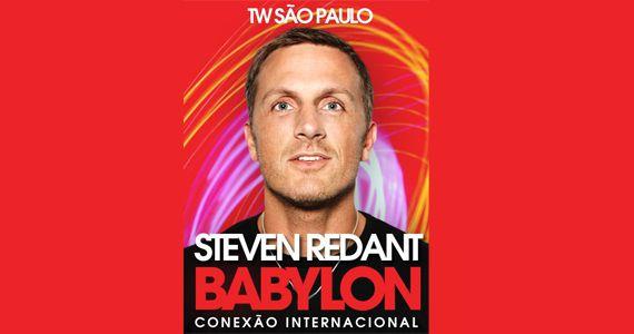 Dj Steven Redant ferve a pista da The Week nesse sábado com a sua incrível set list Eventos BaresSP 570x300 imagem