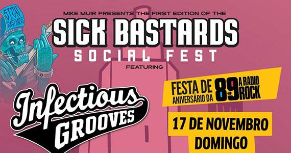 Sick Bastard Social Fest acontece Espaço das Américas Eventos BaresSP 570x300 imagem