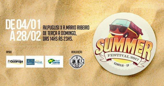 feira-gastronomicas Guarujá recebe 1ª edição do Food Truck Summer Festival BaresSP
