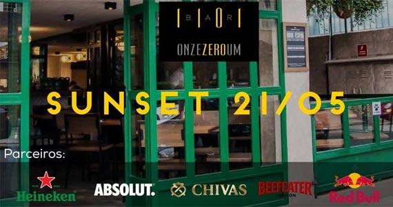 3° edição do Sunset 1101 com o Dj Fabio Arakaki tocando muito deep house e eletrônico no 1101 Bar Eventos BaresSP 570x300 imagem