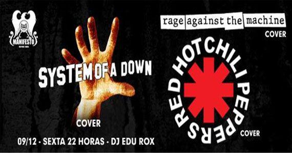 O melhor de System Of Down e Red Hot Chilli Pepers no Manifesto Bar Eventos BaresSP 570x300 imagem