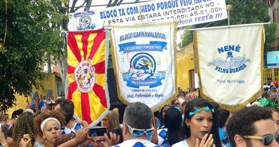 Carnaval de rua recebe o Bloco Tá Com Medo Porque Veio? Eventos BaresSP 570x300 imagem